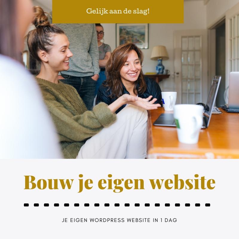Cursus: Bouw je eigen WordPress website in 1 dag